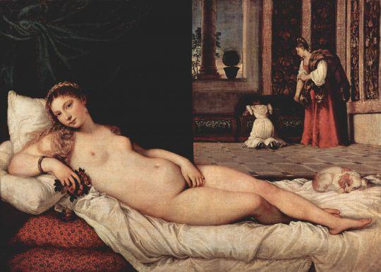 «Венера Урбинская», Тициан
