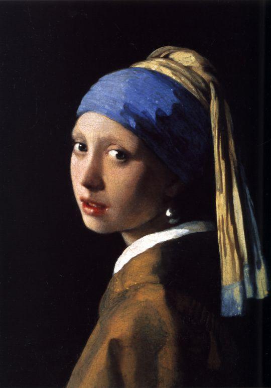 «Девушка с жемчужной серёжкой», Ян Вермер