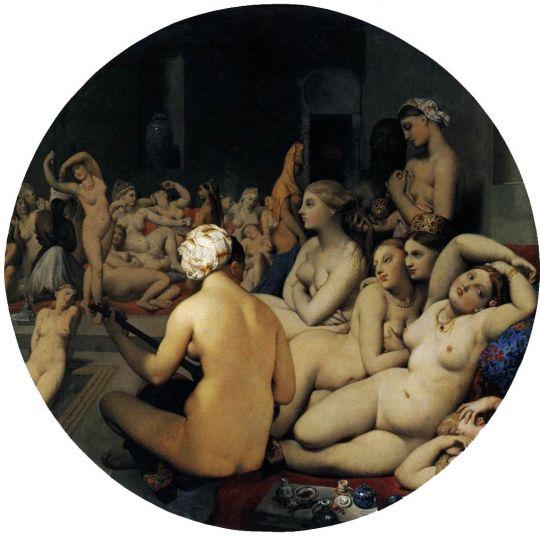 «Турецкие бани», Энгр, Жан Огюст Доминик