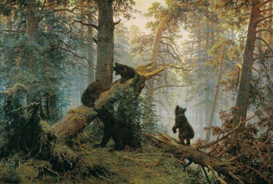 «Утро в сосновом лесу», Иван Шишкин