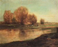 Ивы у пруда