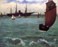 Рыболовное Судно идёт по ветру (также известна как Кирсардж в Болонье)