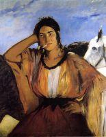 Цыганка с сигаретой (также известна как курящая индийская женщина)