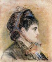 Мадам Жанна Мартина в шляпе