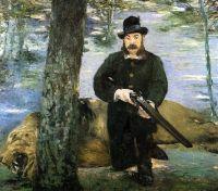 Портрет М. Пертюизе , охотника за львами