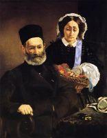 Портрет месье и мадам Мане