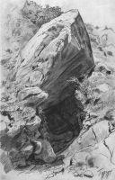 Пещера в Гурзуфе.