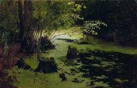 Речная заводь (Прудик). Конец XIX века