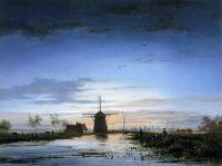 Рыбаки в часы заката
