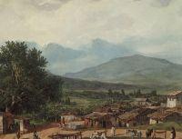 Деревня св.Рокка близ города Корфу.