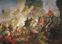 Осада Пскова польским королём Стефаном Баторием в 1581 году.