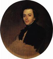 Портрет актера В.В.Самойлова.