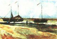 Берег в Схевенингене в тихую погоду
