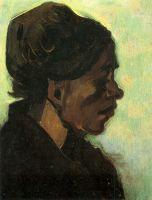 Портрет крестьянки из Брабанта, в темном чепце
