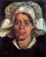 Портрет крестьянки в белом чепце