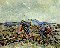 Крестьяне, собирающие Картофель