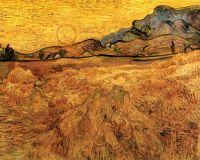 Пшеничное поле с жнецом за больницей Сент-Пол