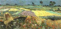 Пшеничные поля близ Овера