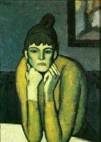 Женщина с шиньоном