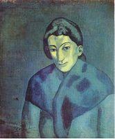 Женщина с шалью.