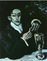 Голубой портрет Анхела Ф де Сото.
