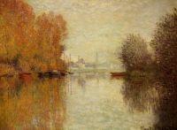 Осень на Сене в Аржентёй
