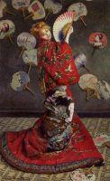 Камилла Моне в японском костюме