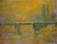 Черинг-кросс моста, туман