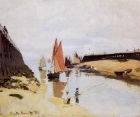 Вход в порт Трувиль
