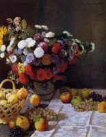 Цветы и фрукты
