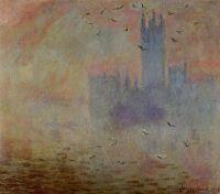 Дом Парламента, отражение в Темзе