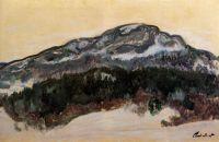 Гора Колсас в туманные дни