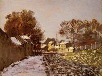 Снег в Аржантее