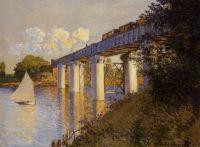 Железнодорожный мост в Аржантее