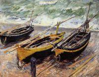 Три рыбацкие лодки