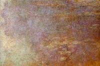 Водяные лилии (левая половина)