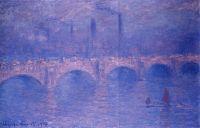 Мост Ватерлоо, сумерки