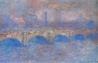 Мост Ватерлоо, солнце