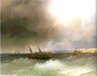 Вид Одессы с моря