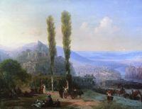 Вид Тифлиса от Сейд-Абаза