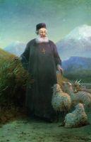 Католикос Хримян в окрестностях Эчмиадзина
