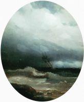 Корабль в бурю
