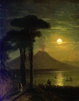 Неаполитанский залив в лунную ночь