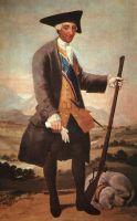 Карла III в охотничьем костюме