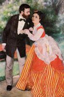 Альфред Сислей с женой