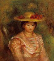 Бюст женщины (также известная как Желтое платье)