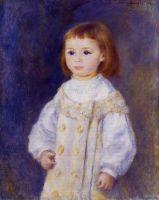 Ребенок в белом платье (также известная как Люси Берар)