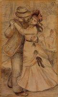 Танец в деревне