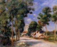 Дорога в деревню Эссуа