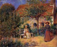Сцена в саду Бретани